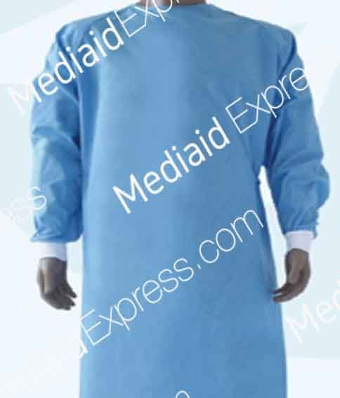 medical-gown-blue